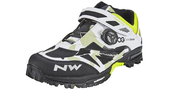Northwave Enduro Mid Shoes Men camo/white/black